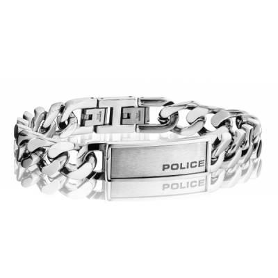 Bracelet Police acier Revenge