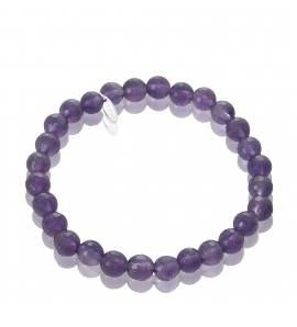 Bracelet pour charm's violet Dévouement