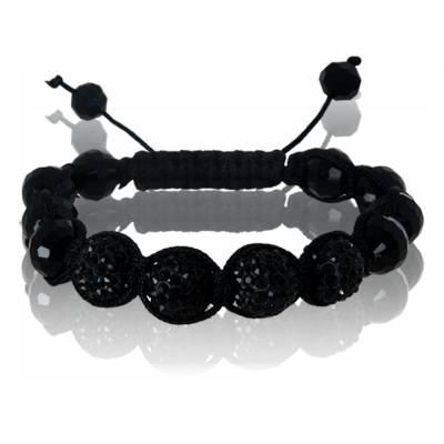 Bracelet shamballa Glam strass