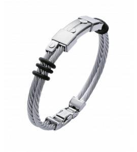 Bracelete masculino aço Ozil