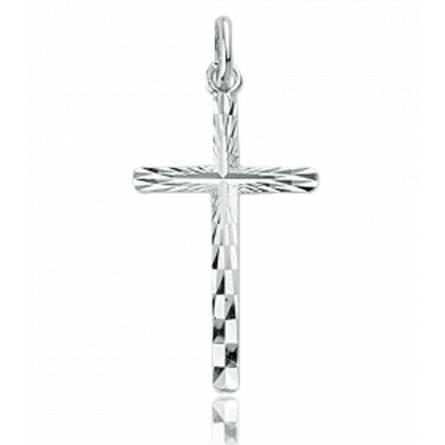 Celeste cross pendant