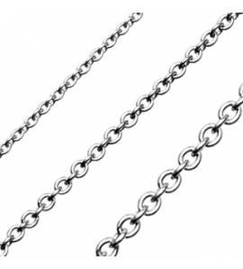 Chaine acier mailles rondes 1mm