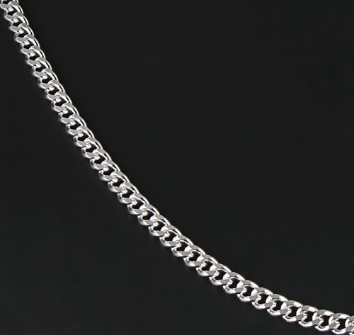 collier homme gourmette