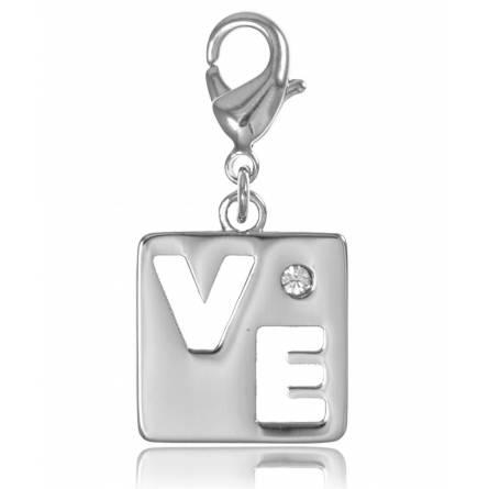 Charm's femei argint metalic (LO) VE