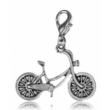 Charm's femei argint metalic Vélo enfant