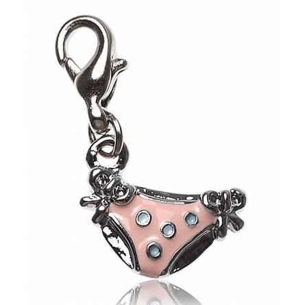 Charm's frauen silberner stahl Culotte rosa