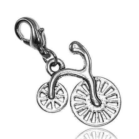 Charm's frauen silberner stahl Vélo