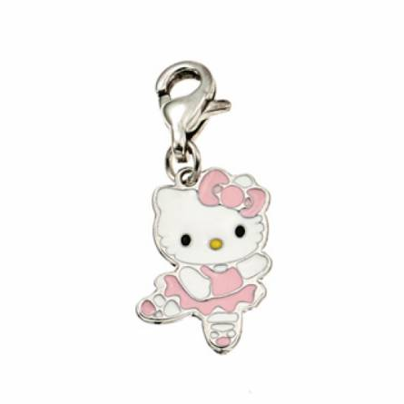 Charms Hello Kitty danseuse rose
