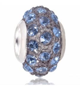 Charms viamentico cristal bleu