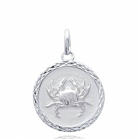 Ciondolo bambino argento medaillon