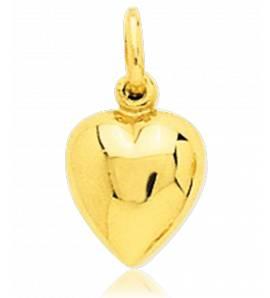 Ciondolo donna oro Affection  cuore giallo