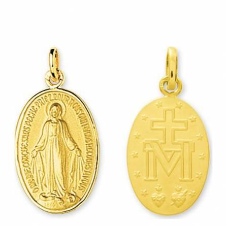 Ciondolo donna oro  La miraculeuse medaillon