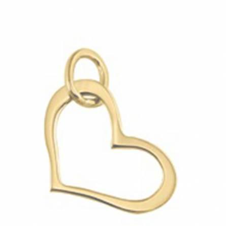 Ciondolo donna oro Transi cuore