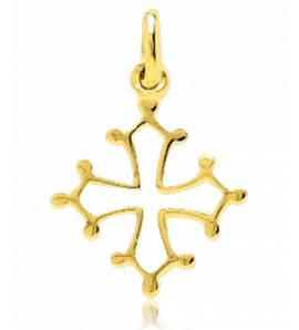 Ciondolo oro Occitane  croix