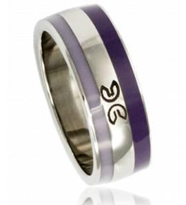 Clyda紫色戒指