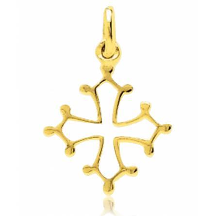 Colgante mujer oro Occitane  croix