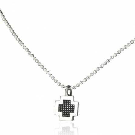 Colier barbati argint Minimaliste Croix