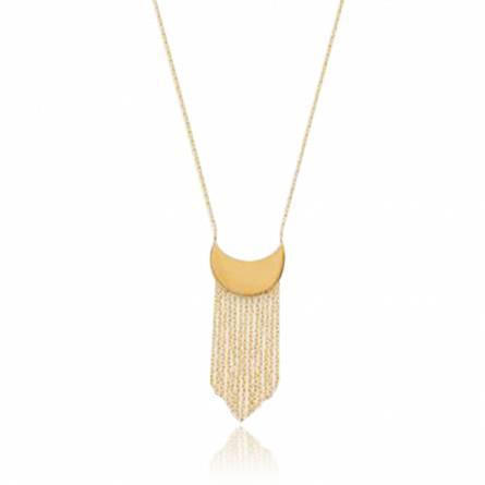 Collana donna placato in oro Rachilde