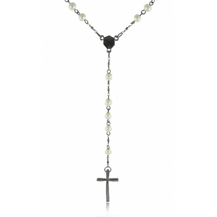collier homme chapelet