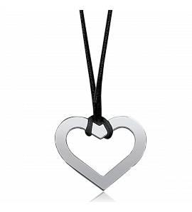 Collier coeur ouvert equilibré