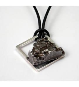Collier Créateur météorite ferreuse