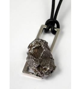 Collier Créateur météorite rectangle