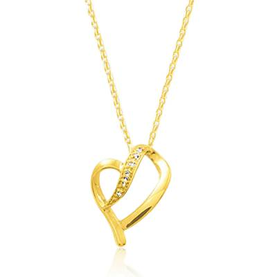 Collier femme Adine coeur