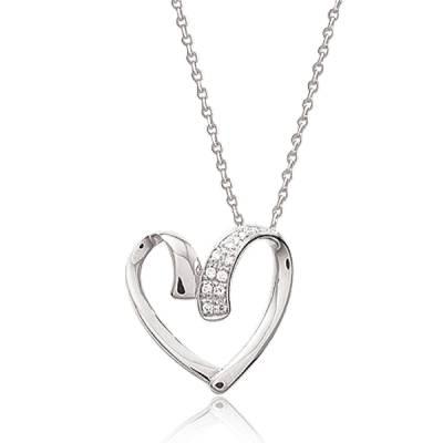 Collier femme Anémone coeur