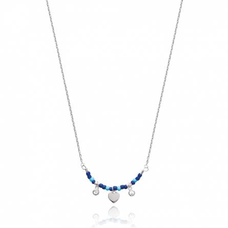 Collier femme argent Aeticia coeur