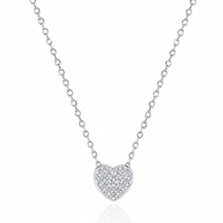 Collier femme Ithyia coeur