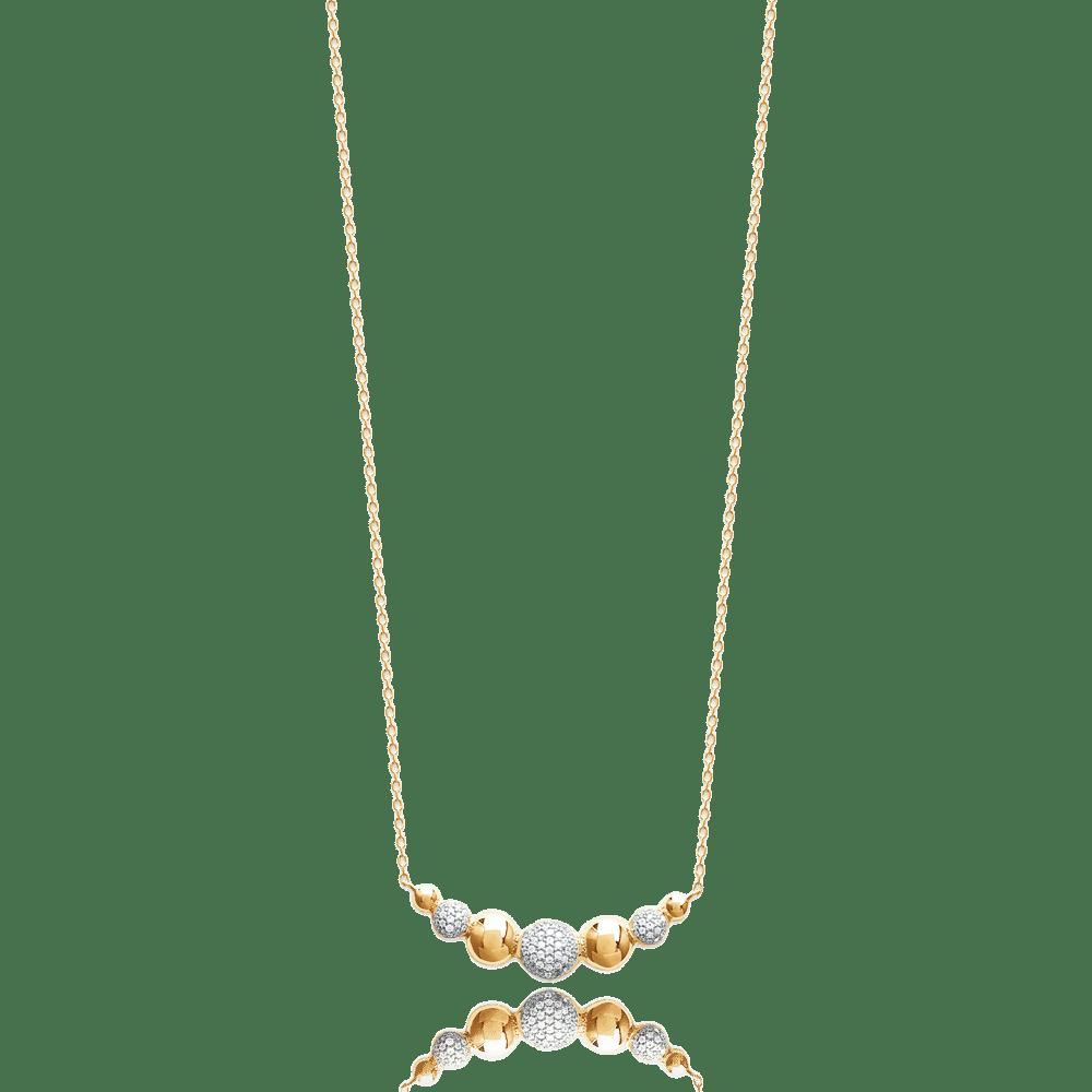 collier femme or original