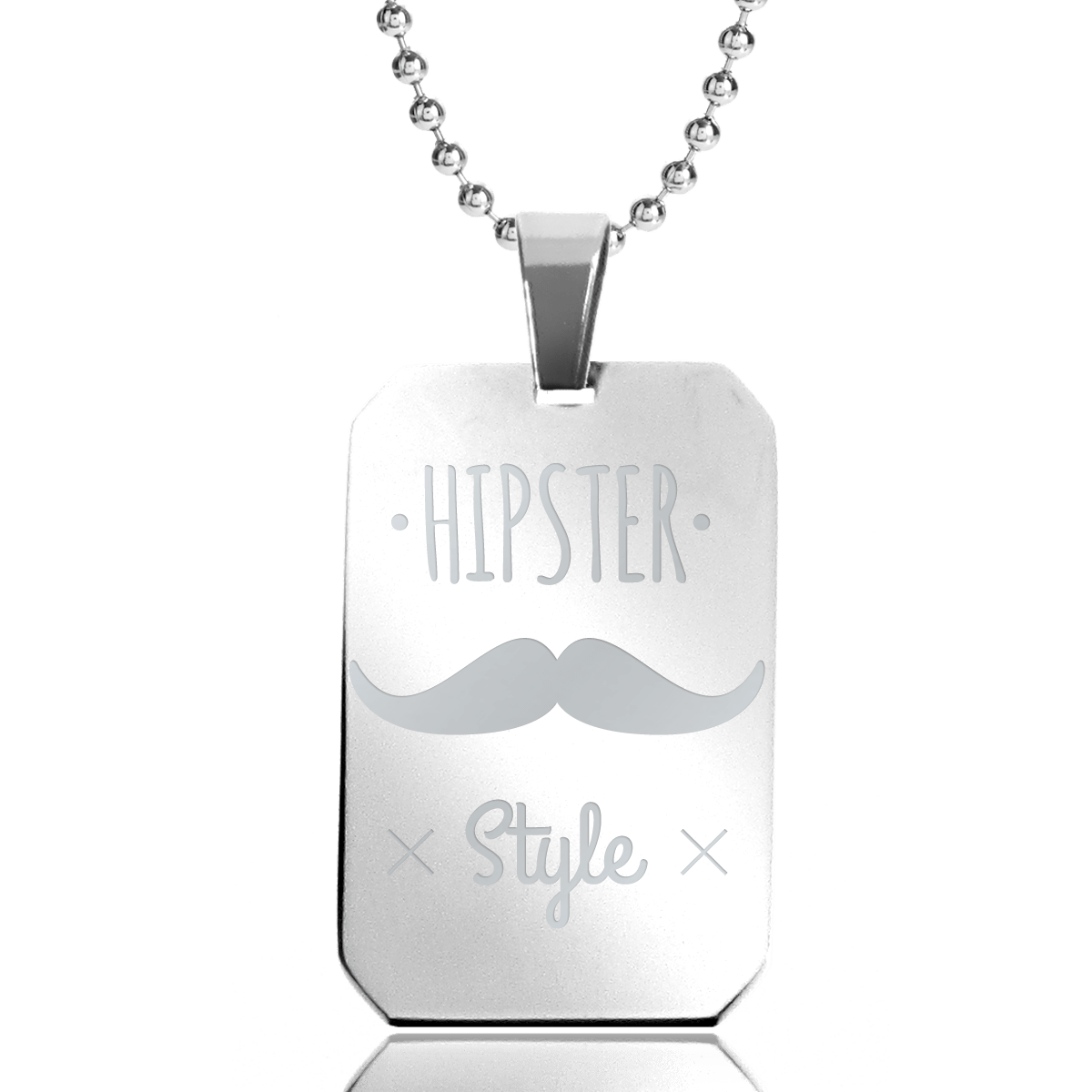 collier homme hipster