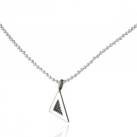 Collier Minimaliste triangle Jano