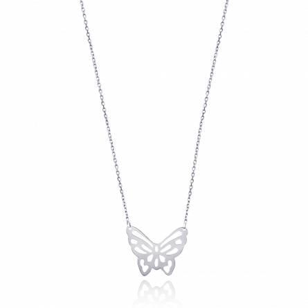 Collier papillon envolé