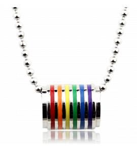 Collier Pendentif Rainbow Tony