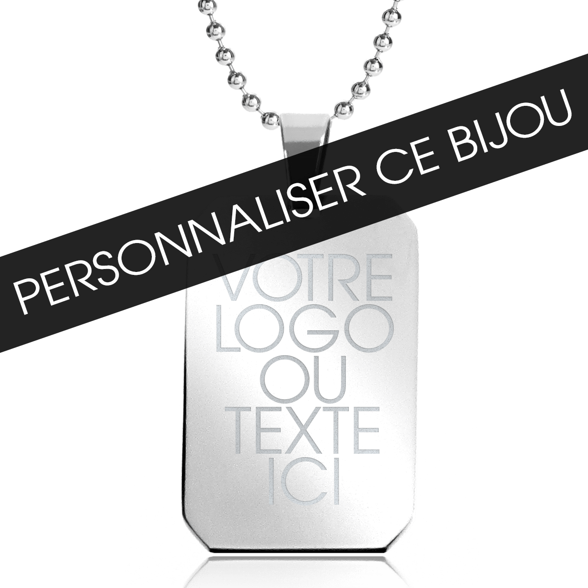 collier homme a personnaliser