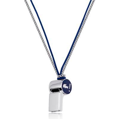 Collier Sifflet Lacoste Bleu