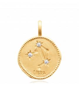 Constellation Or Balance Pendentif