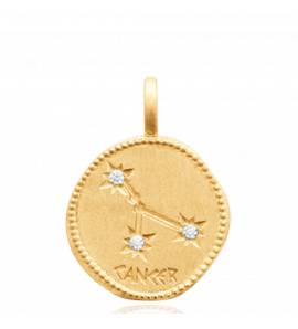 Constellation Or Cancer Pendentif