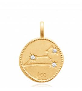 Constellation Or Lion Pendentif