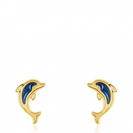 Dolphin bleu