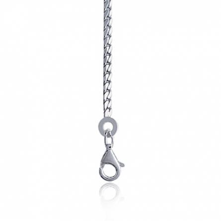 链条 女士 银 1mm