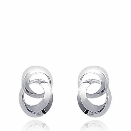 耳环 女士 银 Minimaliste