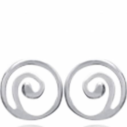 耳环 女士 银 Petite Spirale 螺线