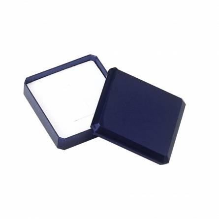 Ecrin pendentif & collier bleu