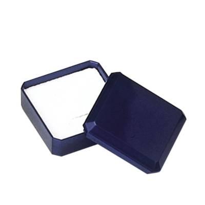 Ecrin plastique bleu bague ou pendentif