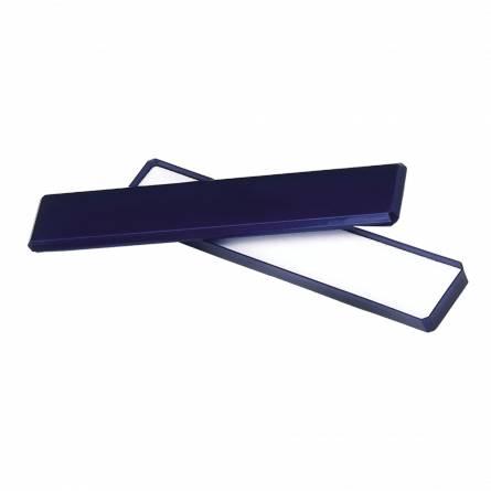 Ecrin plastique bleu chaine & bracelet