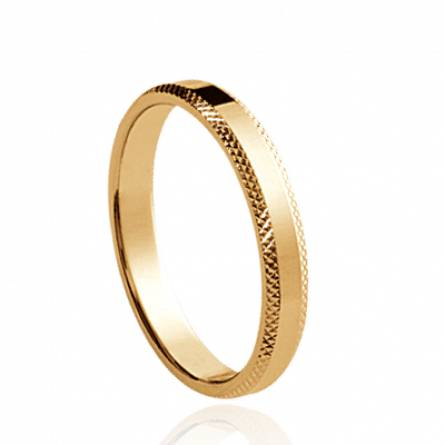 Gold plated Barberine ring