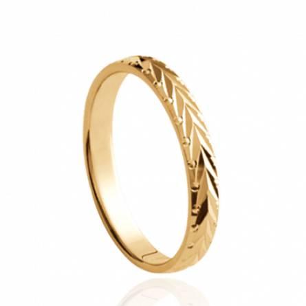 Gold plated Barthélémy ring