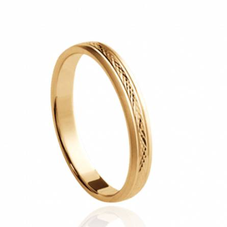 Gold plated Basile ring